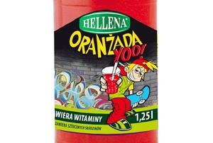 Oranżada Hellena dla dzieci i młodzieży w butelce