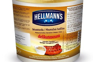 Musztarda delikatesowa Hellmanns dla gastronomii