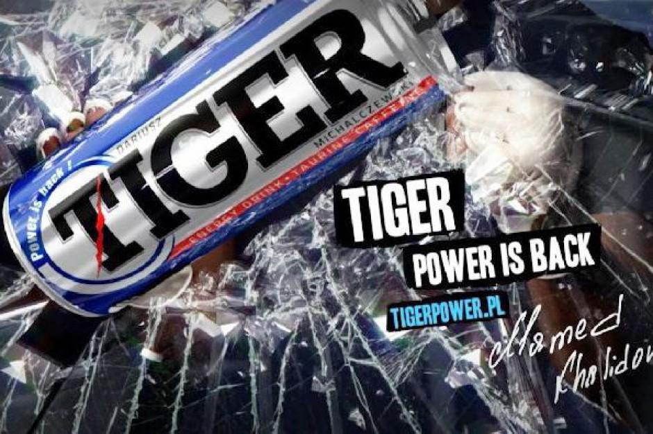 Maspex pozyskał nową gwiazdę sportu. Mamed Khalidov będzie promował napój Tiger