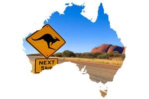 Australia - rynek z dystansem