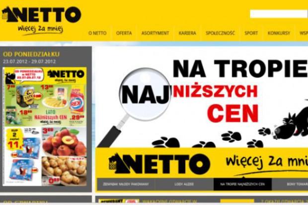 Sieć Netto ma nową stronę internetową