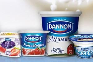Danone zanotował wzrost sprzedaży o niemal 6 proc.