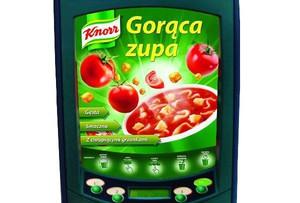 Unilever inwestuje w vending. Wprowadza maszyny z ofertą zup Knorr