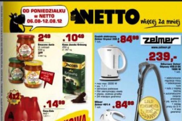 Dyskonty rzadziej eksponują marki własne w gazetkach reklamowych