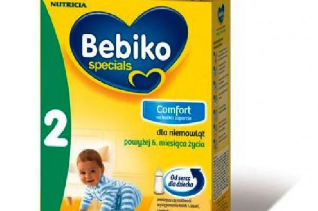 Nutricia wprowadza produkt na niemowlęce kolki i zaparcia