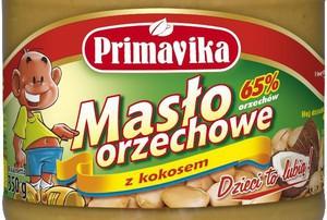 Masło orzechowe z kokosem Primaviki