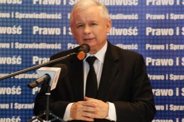 Jarosław Kaczyński: Trzeba wprowadzić podatek obrotowy dla wielkich sieci handlowych