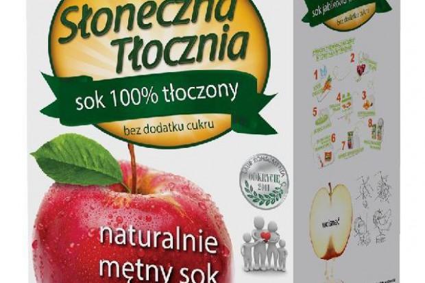 Mętne soki Słoneczna Tłocznia podbijają sieci handlowe