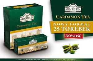 Ceylon Cardamon od Ahmad Tea w nowym opakowaniu