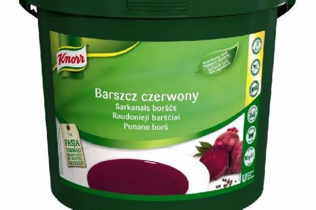 Nowa receptura barszczu Knorr dla gastronomów