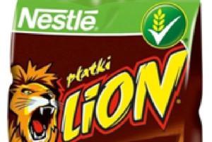 Nestle wprowadza płatki śniadaniowe pod marką Lion