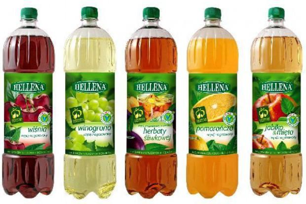 Nowe wersje napojów niegazowanych Hellena