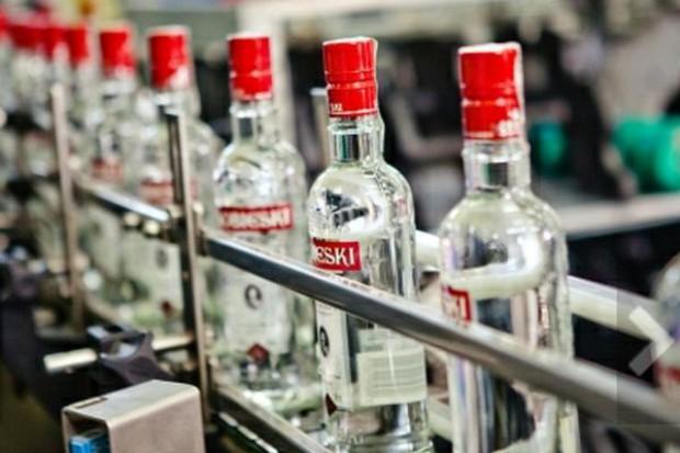 Trzech największych producentów wódki ma łącznie 80 proc. polskiego rynku