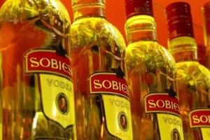 Przychody producenta wódki Sobieski coraz niższe