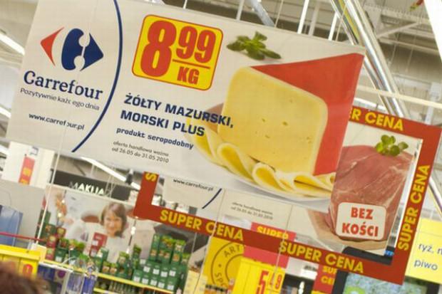 Polacy polują na  żywność promowaną w sklepach