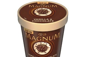 Algida wprowadza lody familijne marki Magnum. Tylko do Tesco
