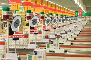 Zdjęcie numer 2 - galeria: Auchan uruchomił pierwszą fazę inwestycji w Łomiankach (zdjęcia)