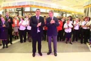 Zdjęcie numer 4 - galeria: Auchan uruchomił pierwszą fazę inwestycji w Łomiankach (zdjęcia)