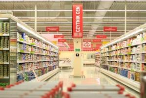 Zdjęcie numer 5 - galeria: Auchan uruchomił pierwszą fazę inwestycji w Łomiankach (zdjęcia)