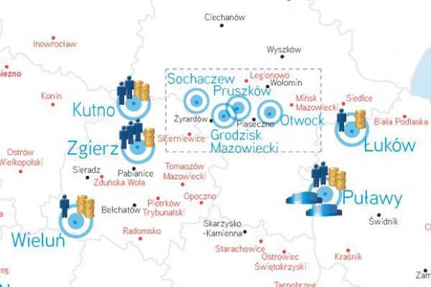 Mapa polskich miast z największym potencjałem handlowym (zobacz mapę)