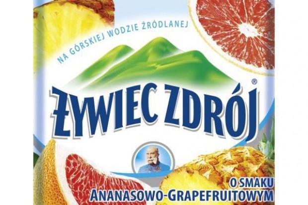 Nowe smaki Żywiec Zdrój Smako-Łyk