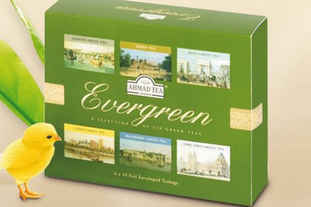 Kolekcja zielonych herbat od Ahmad Tea