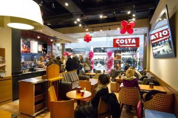Costa by Coffeeheaven stawia na centra handlowe