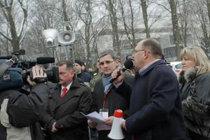 Zdjęcie numer 1 - galeria: Duży protest przeciwko zakazowi uboju rytualnego (galeria zdjęć)