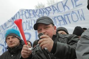 Zdjęcie numer 2 - galeria: Duży protest przeciwko zakazowi uboju rytualnego (galeria zdjęć)