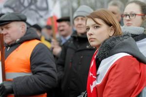 Zdjęcie numer 3 - galeria: Duży protest przeciwko zakazowi uboju rytualnego (galeria zdjęć)
