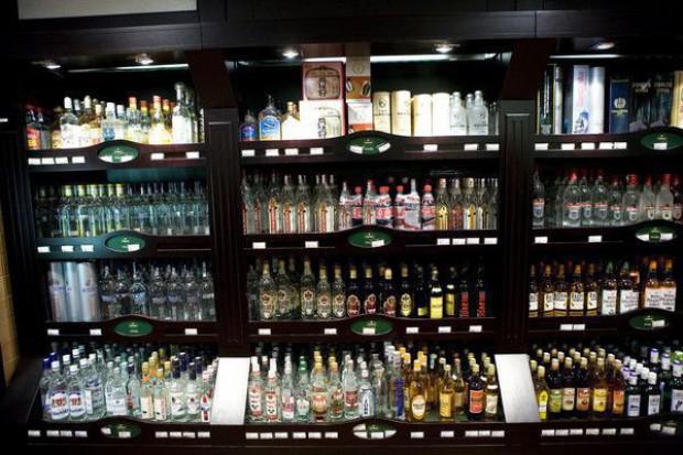 W 2012 r. spadł eksport wódki