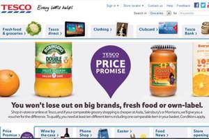 W 2014 r. Tesco chce mieć e-sklepy na większości rynków