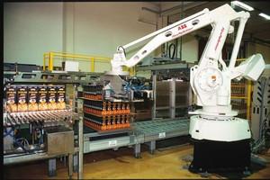 Liczba robotów przemysłowych w przemyśle spożywczym rośnie