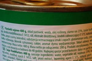 Etykieta jest najważniejszym źródłem informacji o produkcie dla konsumentów