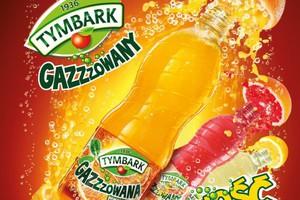 Tymbark wchodzi w kategorię owocowych napojów gazowanych