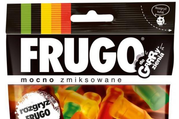 Żelki Frugo w dwukrotnie powiększonej paczce
