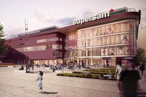 Nowy Supersam w Katowicach będzie kosztował 50 mln euro