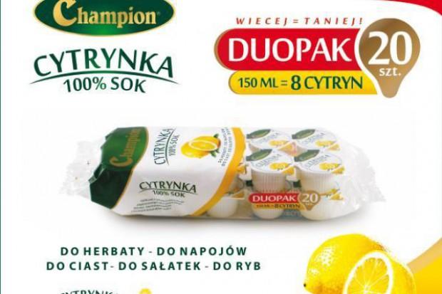 Levant wchodzi w produkcję 100 proc. soku cytrynowego