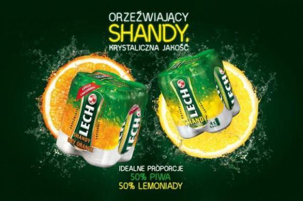 Lecha Shandy o smaku pomarańczy