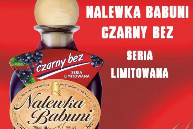 Nalewka Babuni o smaku czarnego bzu