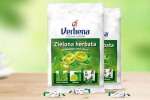 Nowy smak i kampania reklamowa cukierków Verbena