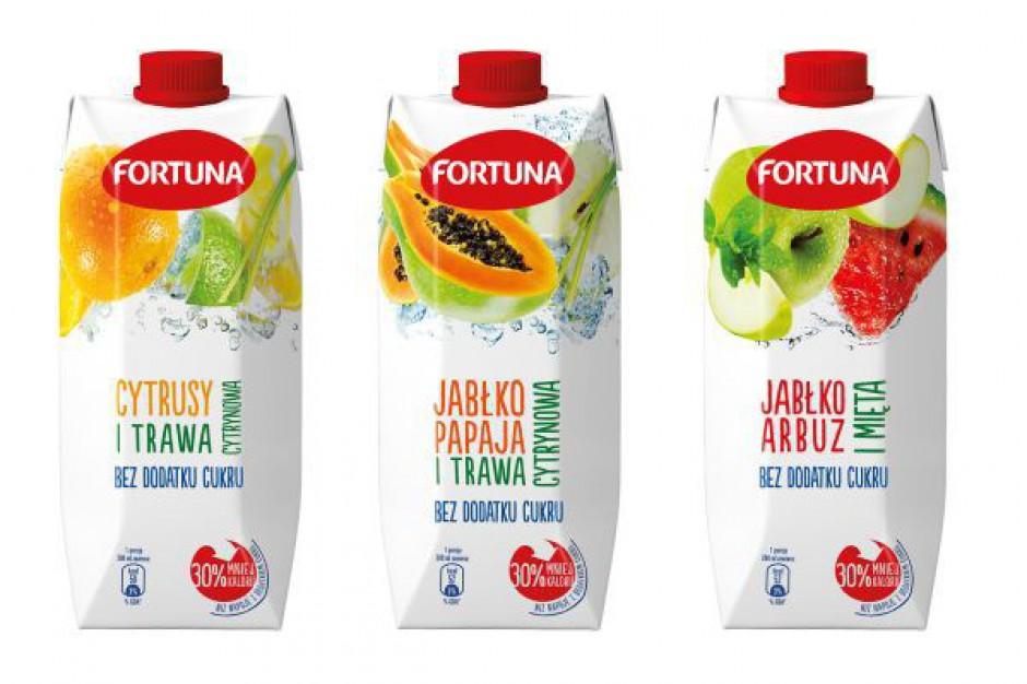 Fortuna wprowadza napoje z wysoką zawartością soku