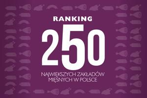Ranking 250 największych zakładów mięsnych w Polsce (2011/2010)