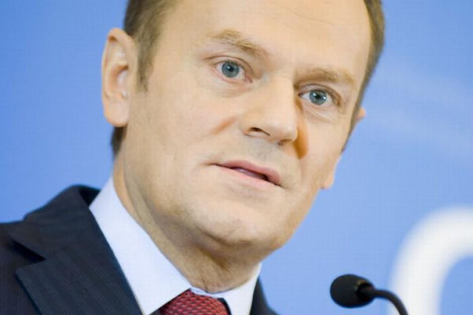 Tusk: 400 mld zł z budżetu UE dla Polski zapewne niezagrożone