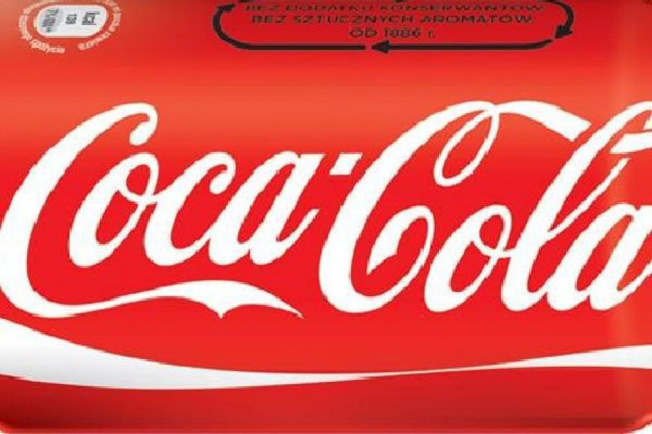 Nowa Coca-Cola ze stevią i z cukrem