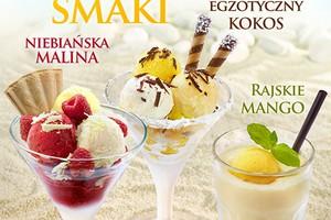 Nowe smaki lodów Grycan