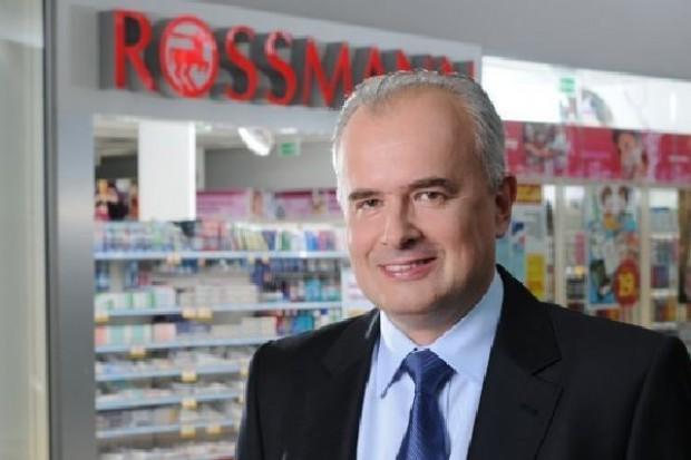 Prezes Rossmanna: Będziemy rozwijać sieć by być bliżej klienta