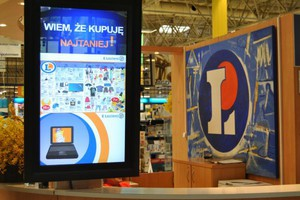 Sieć E.Leclerc inwestuje w ekrany LCD