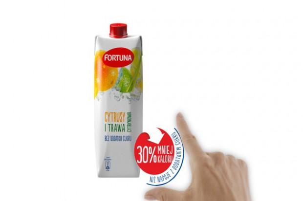 Fortuna wprowadza napoje o wysokiej zawartości soku