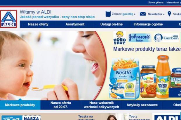 Aldi wprowadza do oferty polskich sklepów produkty markowe